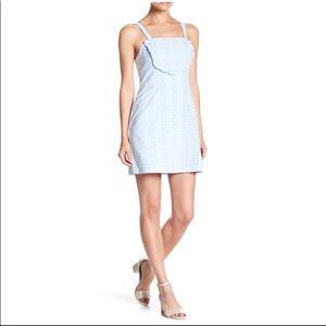 NWT CAD pale blue eyelet sundress - Size Large
